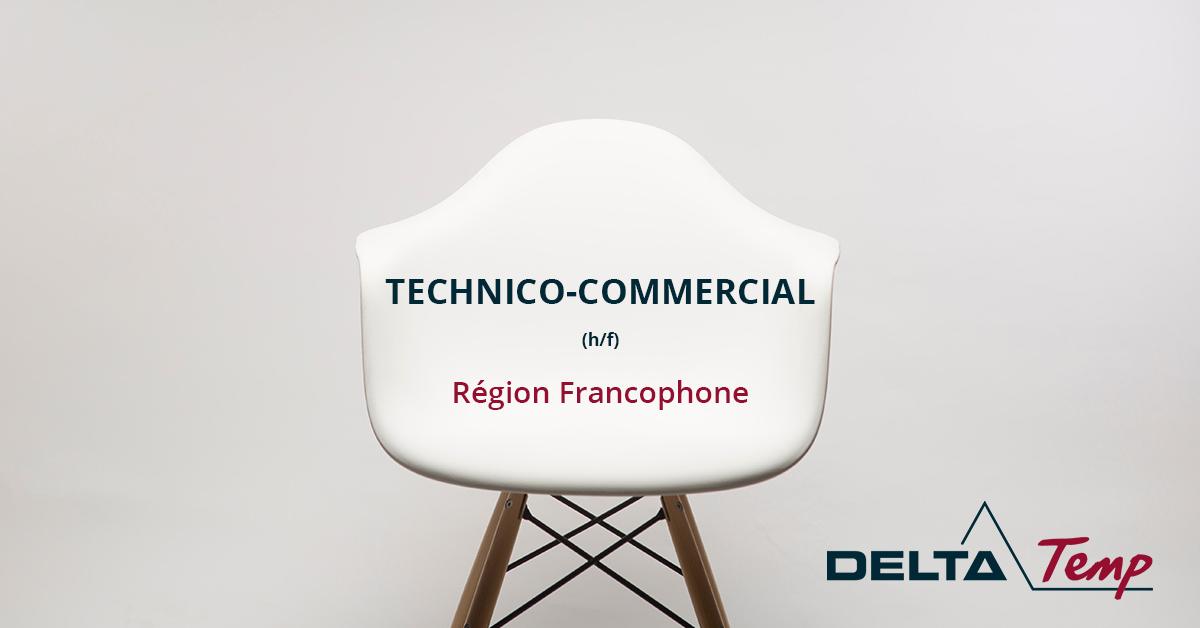 Technico-Commercial (M/F)