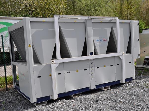 400kW ijswatermachine voor bloedverwerkingsbedrijf