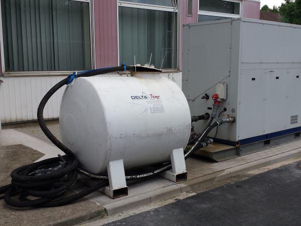 Medikamenten-Hersteller mietet Kaltwassersatz