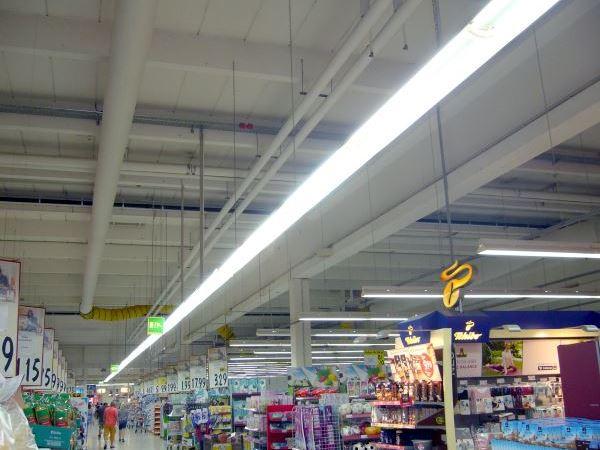 Klimapaket auf Mietbasis für Supermarkt
