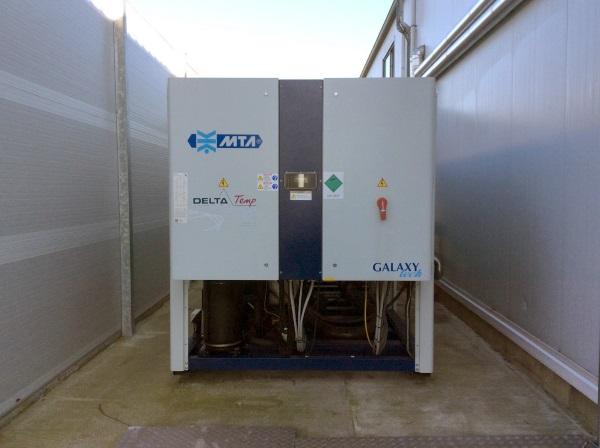Implementatie ijswatermachine voor drukkerij