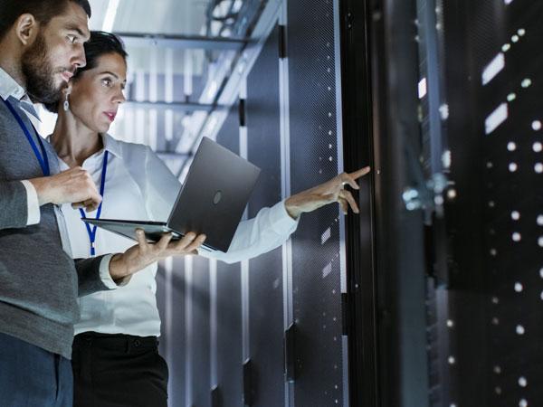 IT-Raum zu warm? Optimale Klimalösung für den IT-Sektor.