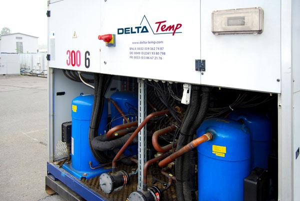 Mietkälte Kaltwassersatz DT 300