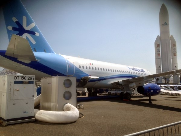 Event Klimatisierung - Flugzeugmesse