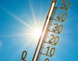 Daar is de zomer, daar is de zon...