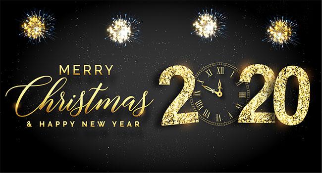 Prettige feesten en een gelukkig nieuwjaar!
