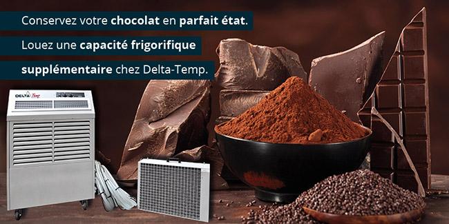 Refroidissement pour le Chocolat 1