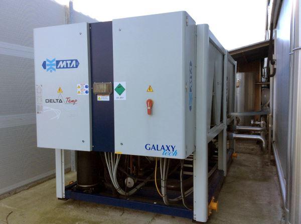 Luftgekühlter Kaltwassersatz für Brauerei
