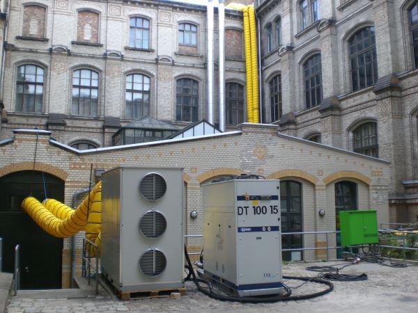 Mobile Kühlung für Naturkundemuseum