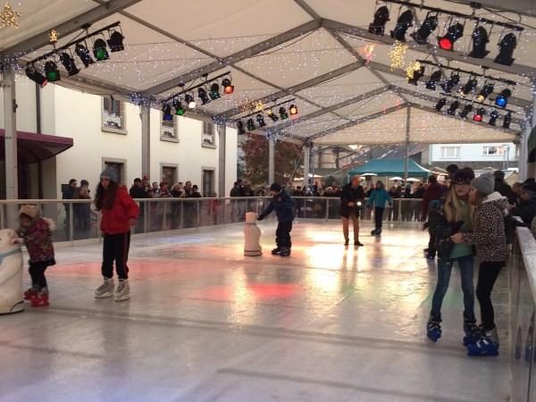 Mobile Eislauffläche in Luxemburg