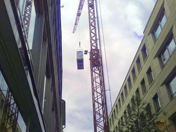 Mobile Kühlung über den Dächern Stuttgarts