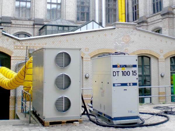 Mobiles Klimagerät mieten für Großklima