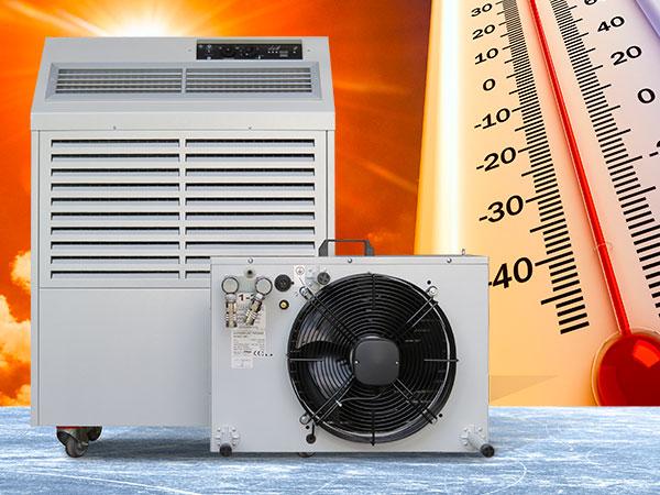 Die Split-Klimaanlage AC 6.7 endlich auch als Kaufversion