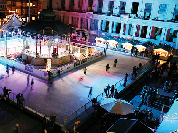 Eisbahn mieten für den Winterspaß
