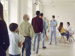 Heizung für Impfzentrum mieten