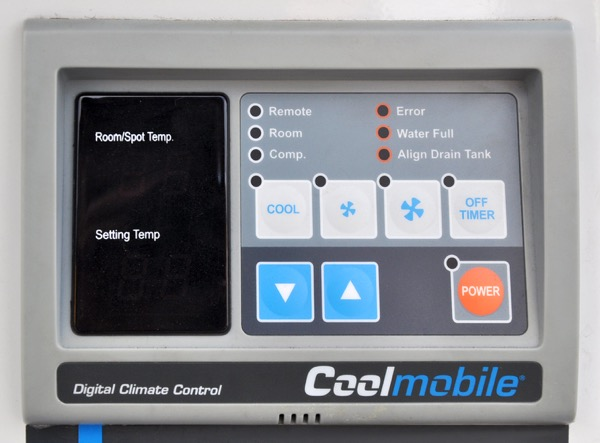 Mobiles Spot Klimagerät. AC 7.2