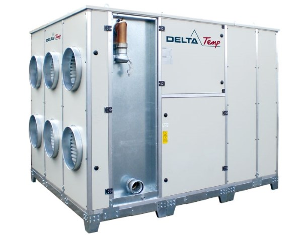 Mobile air handler 500kW