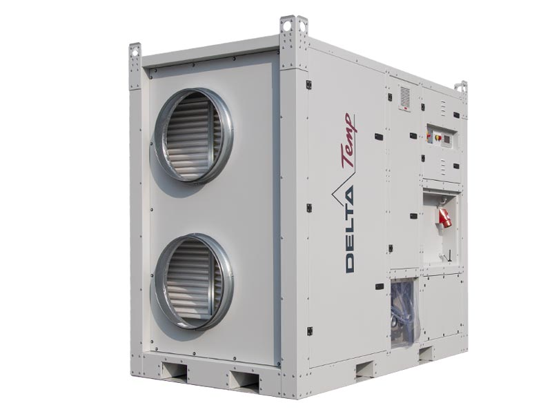 Louer une centrale de traitement d'air pour la ventilation industrielle et la climatisation