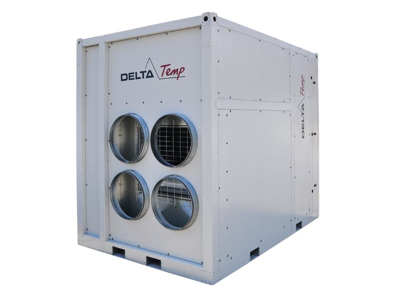 Rent an air handling unit for industrial climate control