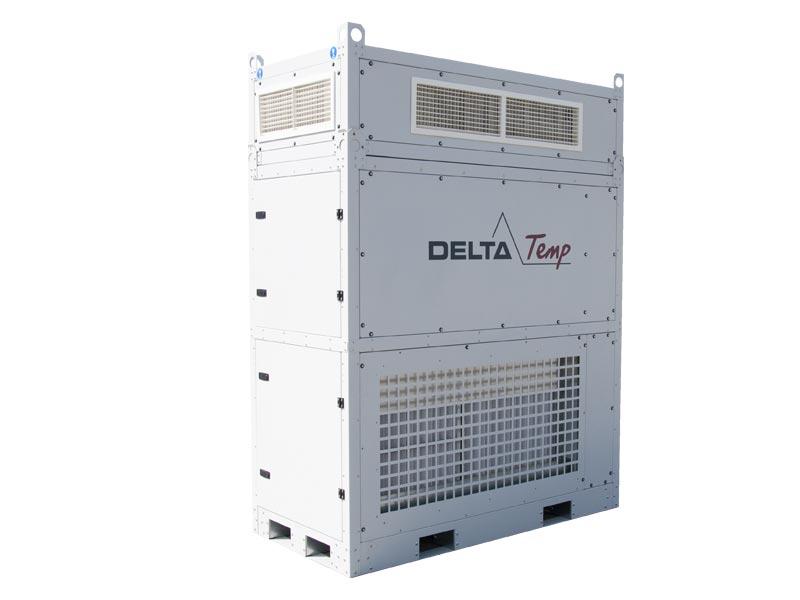 Mobiele luchtbehandelingskast huren - Koelvermogen 50kW