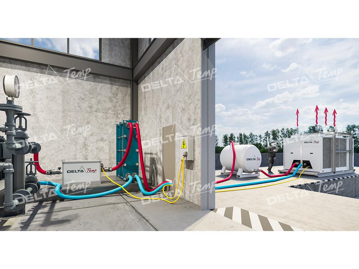 Kaltwassersatz 150 kW mieten