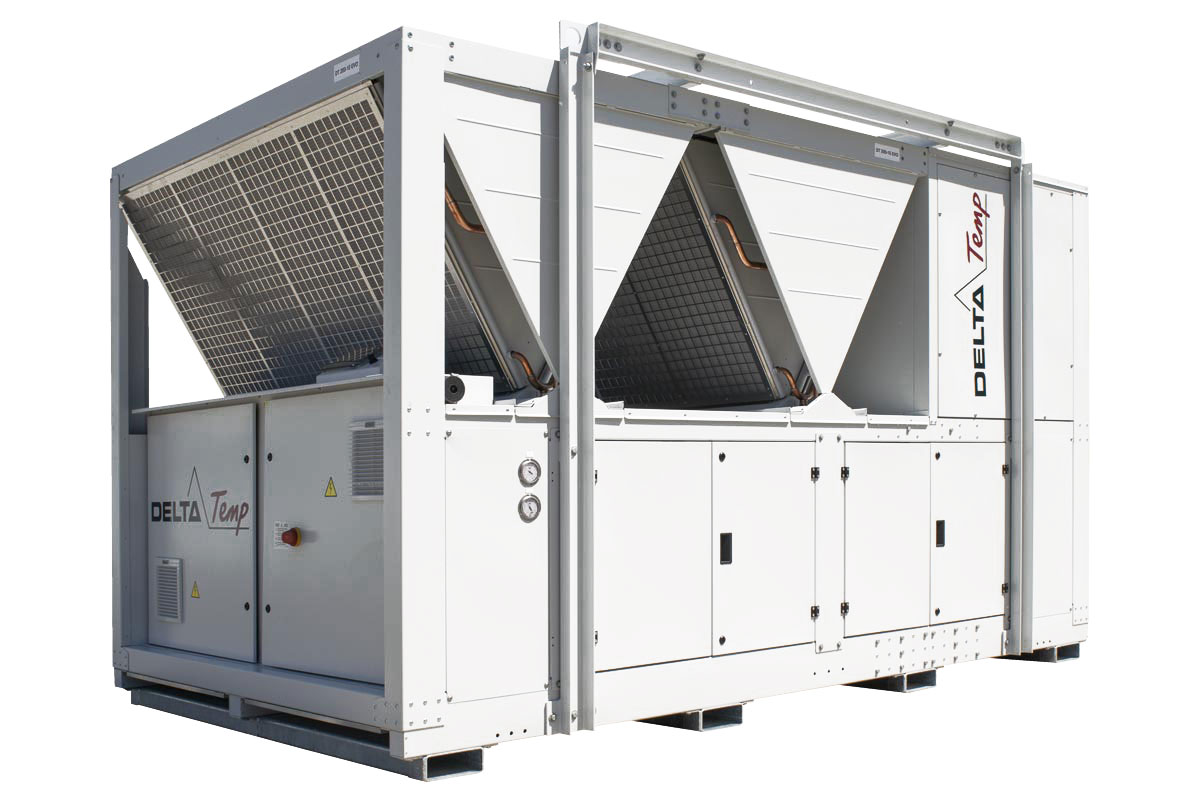 Rent a Chiller DT200 EVO - Mobile cooling: environmentally friendly and energy efficient
