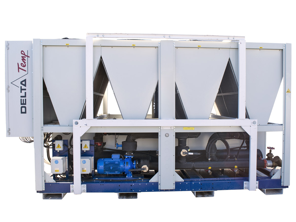 Mobile chiller rental DT 400 kW