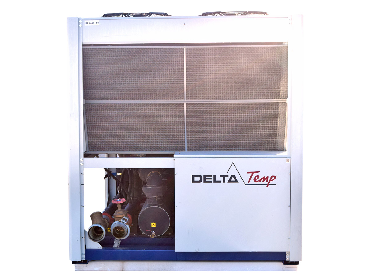 Mobile chiller rental DT 400 kW