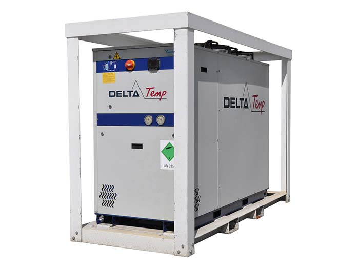 Kaltwassersatz mieten. 50 kW