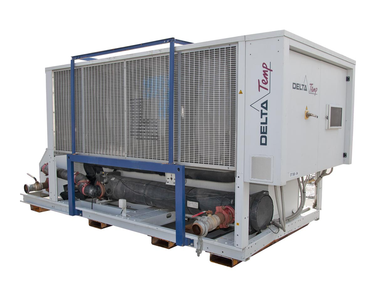 mobile chiller rental DT 500 kW