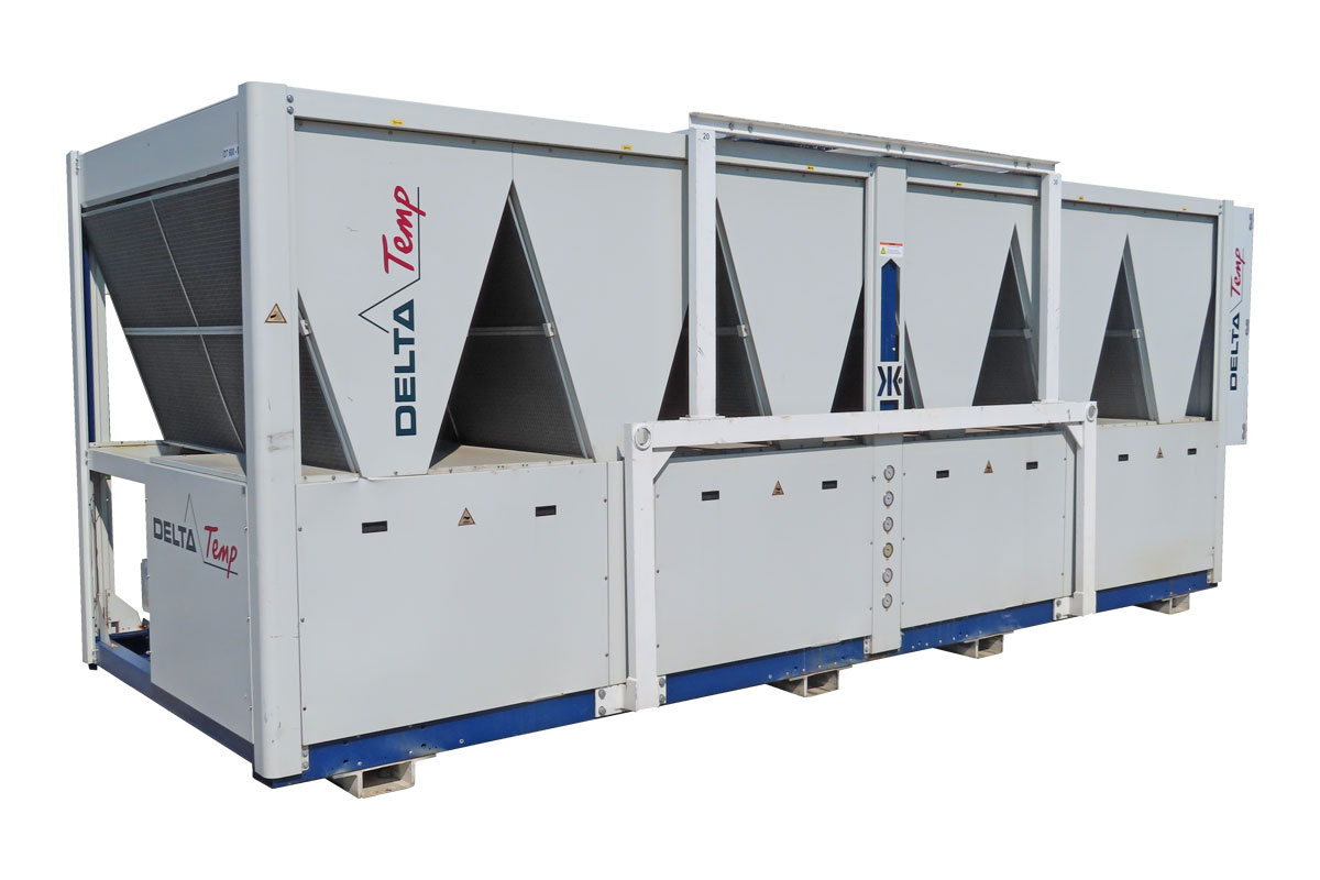 Rent cooling machine 600kW for process cooling