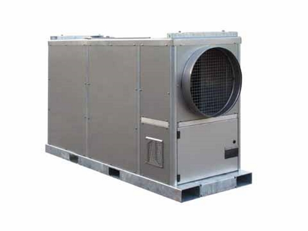 Mobile heat generator 200kW