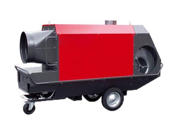 Rent mobile heater 110kW