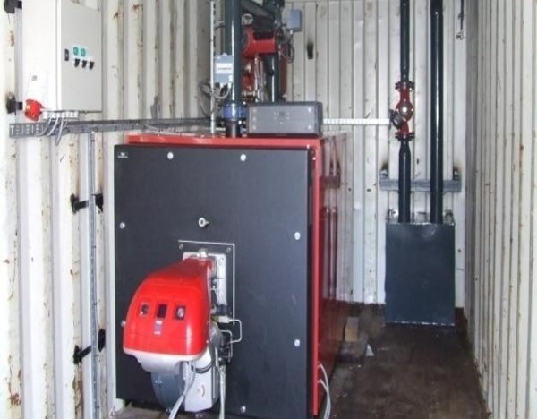 Warmwater Boiler 450kW