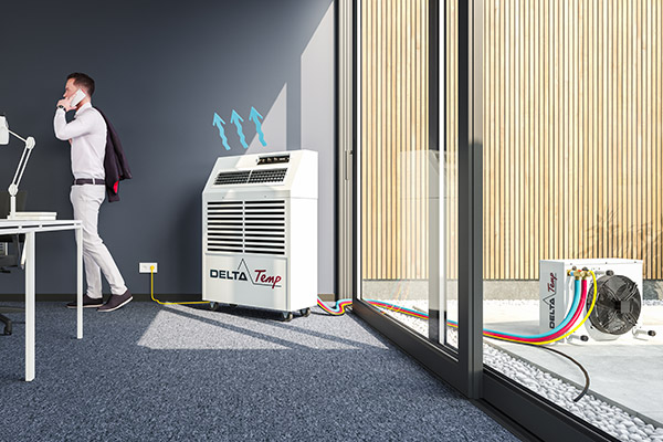 Mobile air conditioners