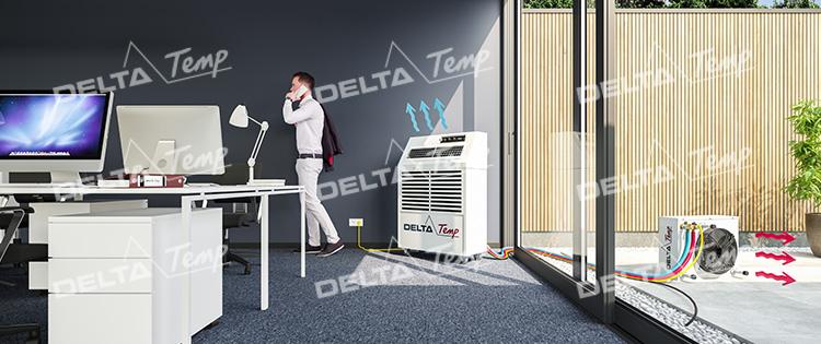 Mobiele airco huren Delta-temp